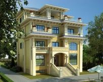 永云别墅AT1680复式四层豪华楼中楼私人别墅设计图纸13mx12.7m